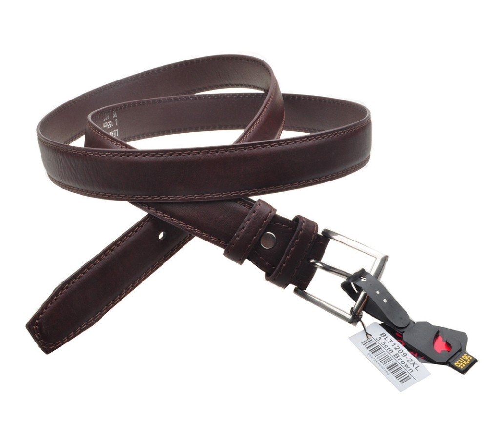 Bulk Buy Belts 3.5cm Extra Large size Brown BLT1209-2XL