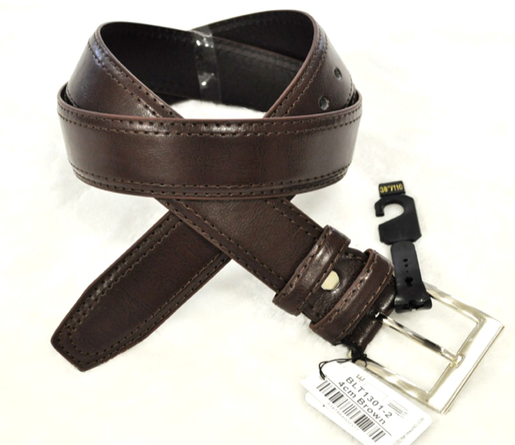 Belts 4cm Large size Brown BLT1301-2