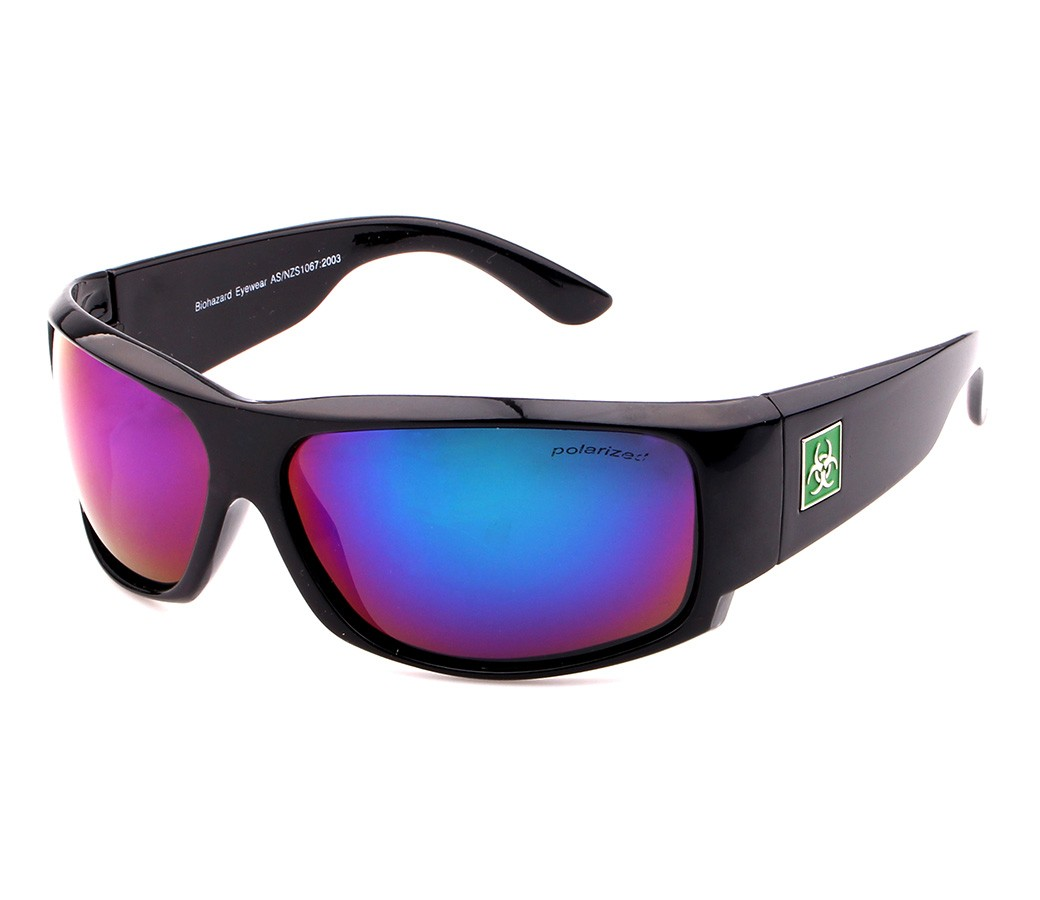Biohazard Polarized Tint Lens Sunglasses BIO003PP