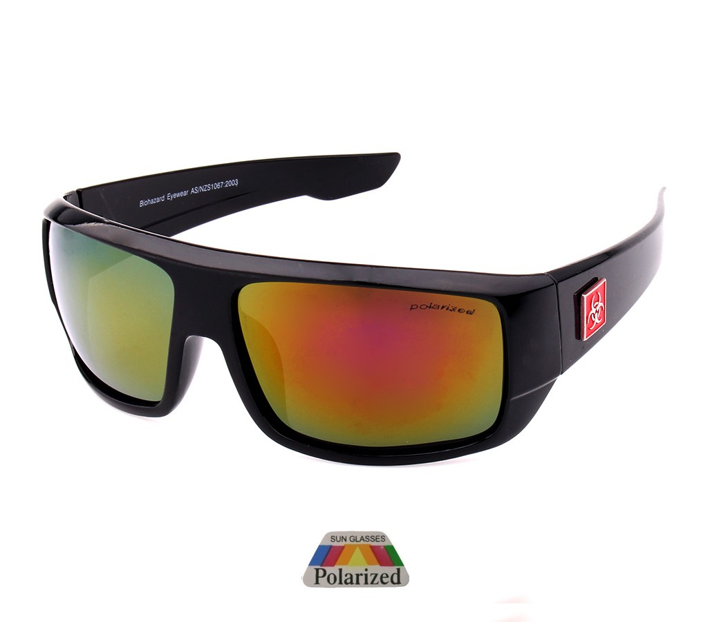 Biohazard Polarized Tint Lens Sunglasses BIO005PP