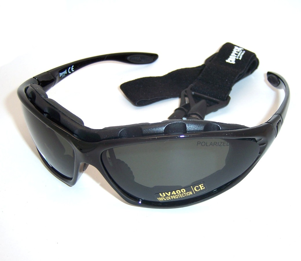 Choppers Convertible Polarized Goggles Sunglasses 91730-PL