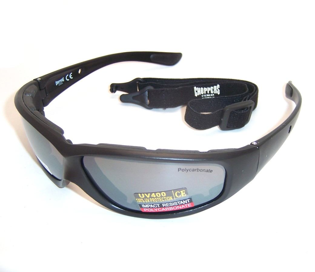 Choppers Goggles Sunglasses (Anti-Fog Coate)91747-SMM