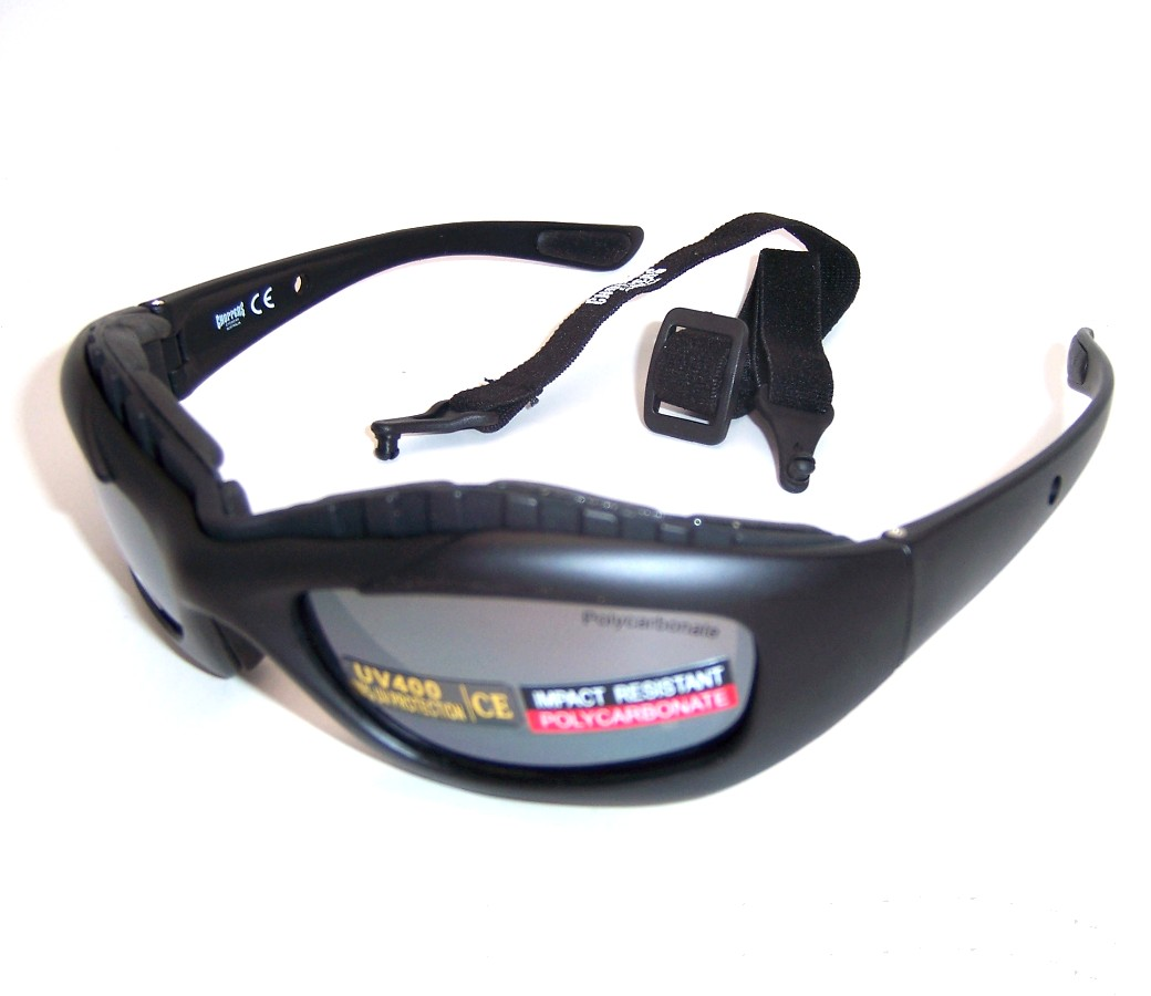 Choppers Goggles Sunglasses (Anti-Fog Coate) 91814-SMM