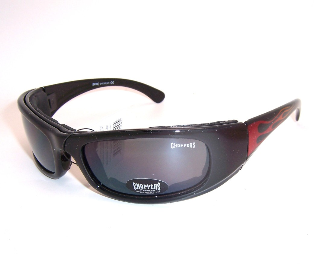 Choppers Goggle Foam Padded Sunglasses (Polycarbonate Lens) CHOP038