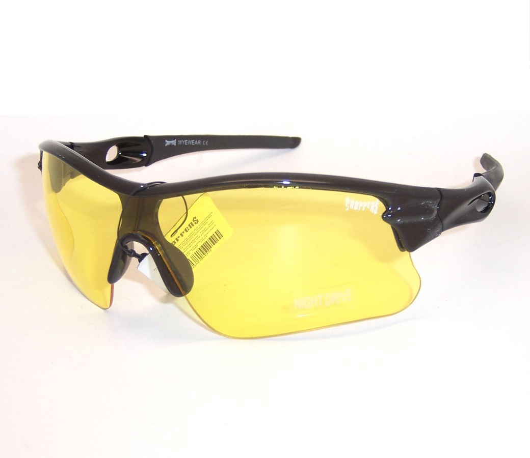 Choppers Night Drive Yellow Lens Glasses CHOP121