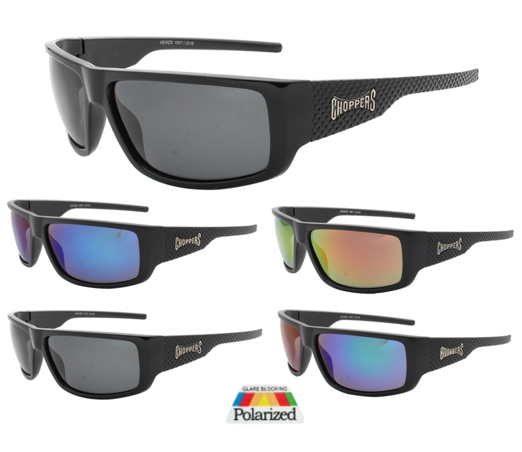 Choppers Tinted Lens Polarized Sunglasses CHOP403PP