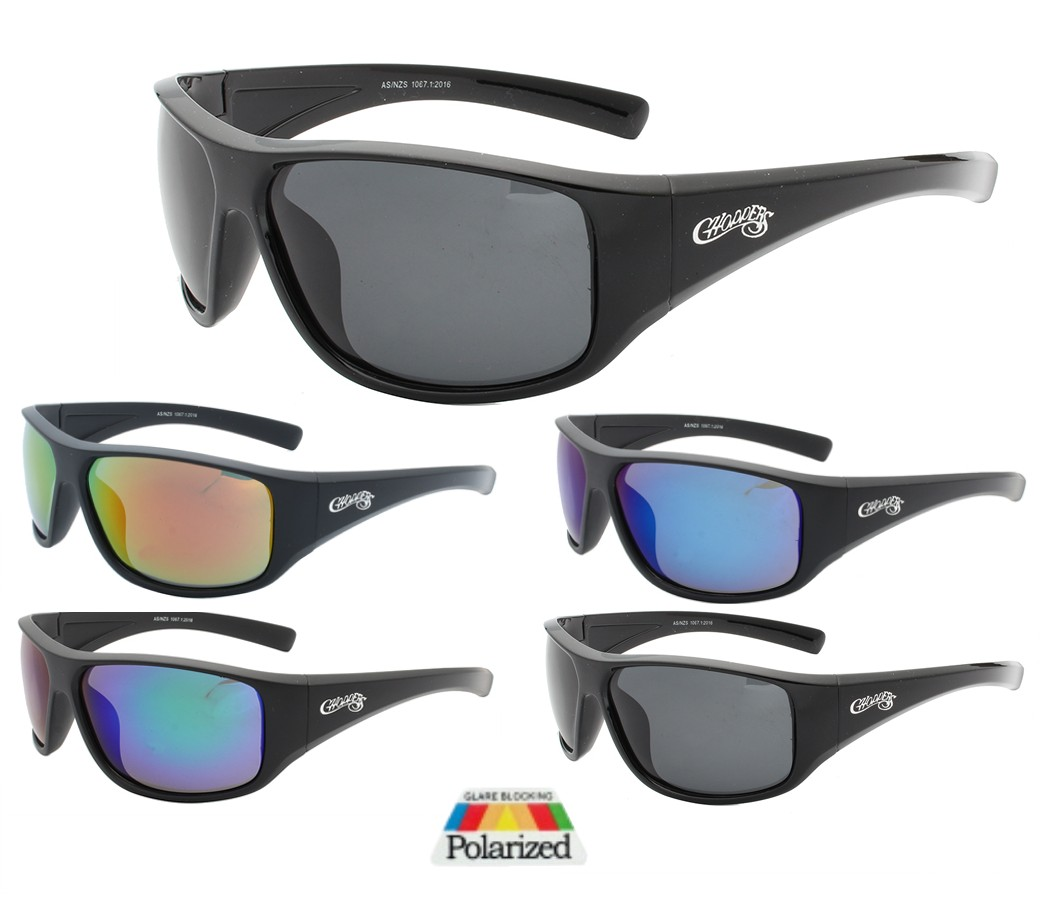 Choppers Tinted Lens Polarized Sunglasses CHOP404PP