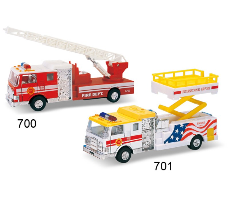 Rescue Engine Diecast Models DC-700/701