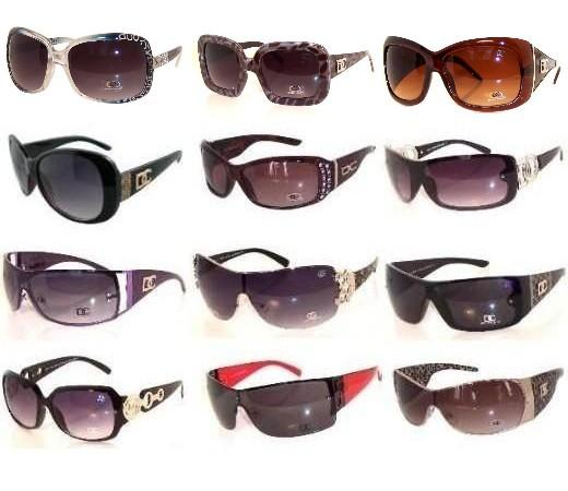 120 Pair DC & CG Sunglasses Package Sale