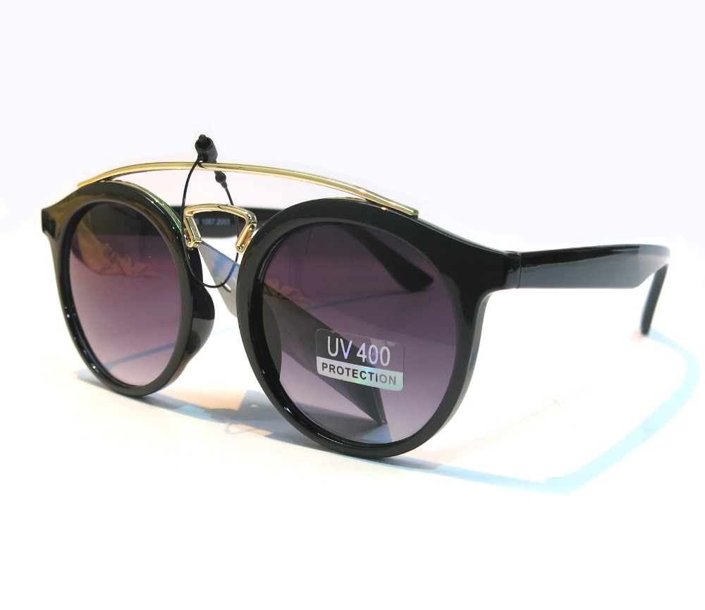 Designer Fashion Metal Sunglasses FM2103-1