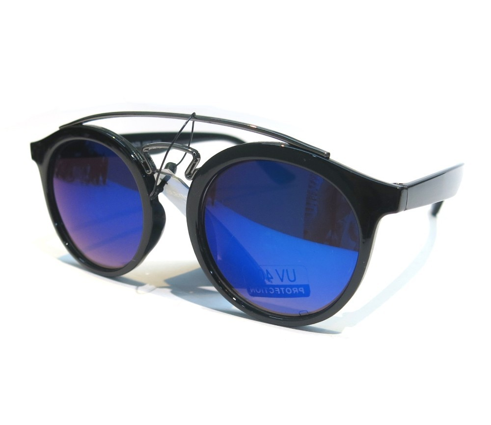 Designer Fashion Metal Tint Lens Sunglasses FM2103-2