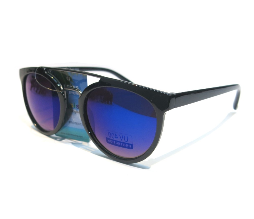 Designer Fashion Metal Tint Lens Sunglasses FM2104-2