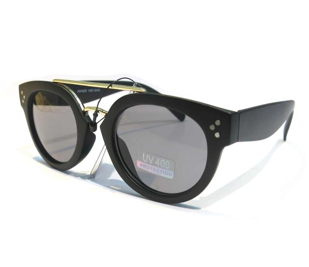 Designer Fashion Metal Sunglasses FM2105-1