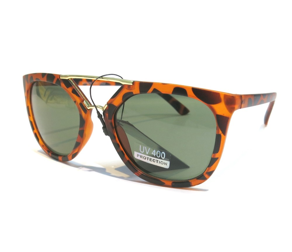 Designer Fashion Metal Sunglasses FM2106-1