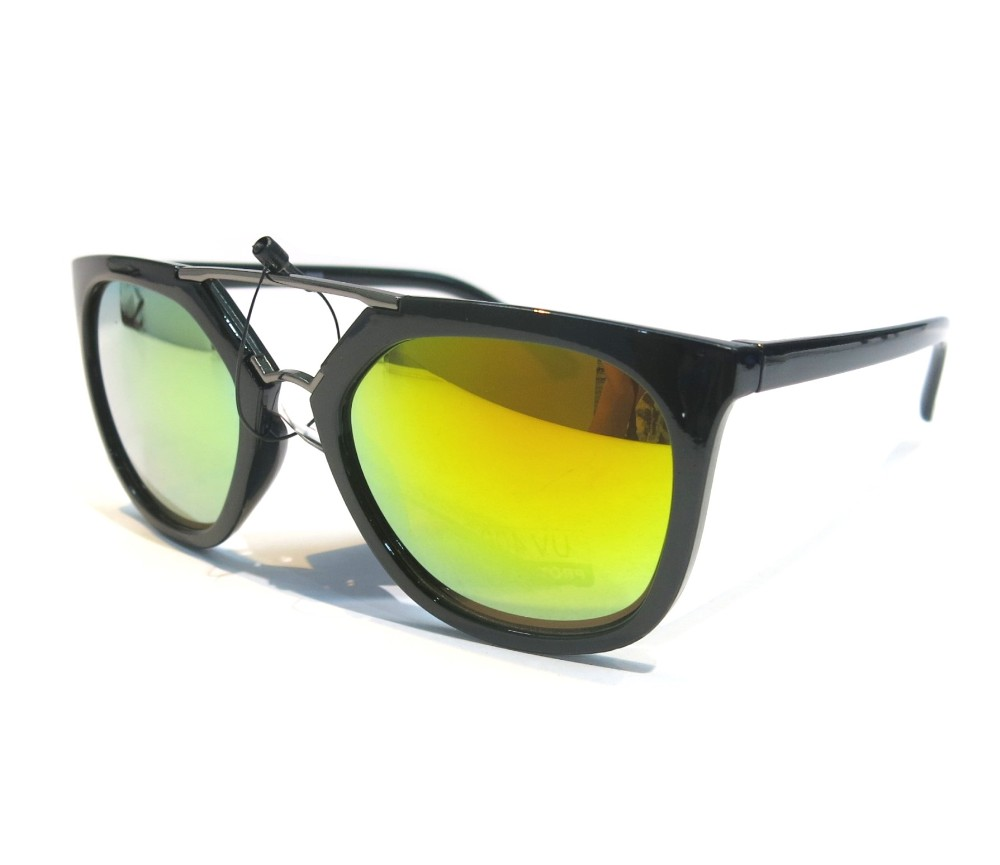 Designer Fashion Metal Tint Lens Sunglasses FM2106-2