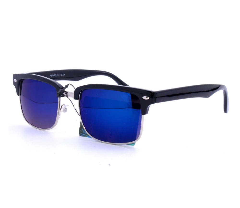 Designer Fashion Metal Tinted Lens Sunglasses FM2111-2