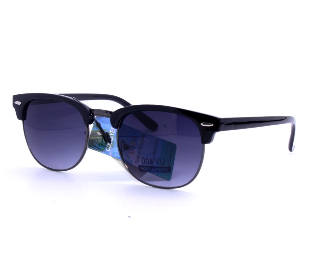 Designer Fashion Metal Sunglasses FM2112-1