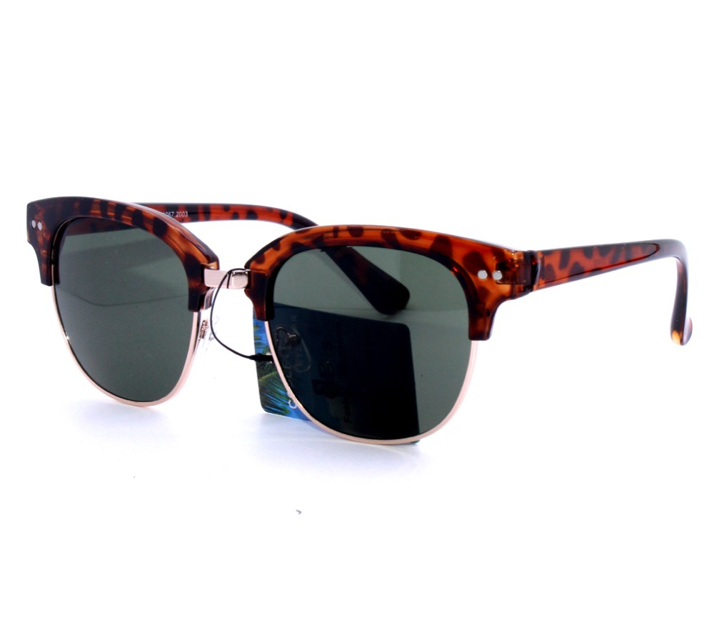 Designer Fashion Metal Sunglasses FM2113-1