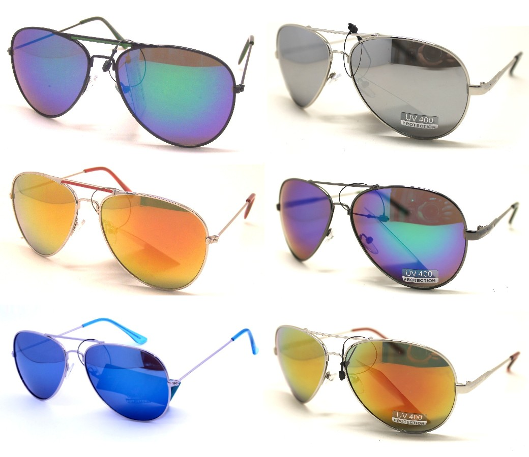 Aviator Sunglasses - Tinted Lens Sample Pack