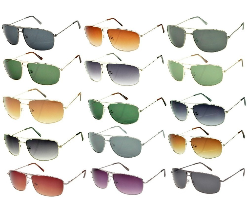 300 Pairs Bulk Buy Fashion Metal Sunglasses