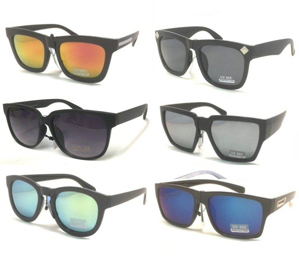 Fashion Plastic Unisex Sunglasses Sample Pack