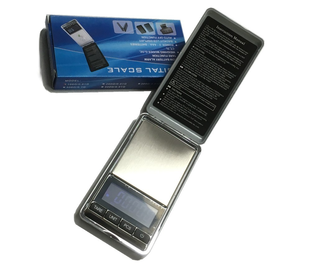 Digital Pocket Scale (Black Colour) SC14-100/0.01