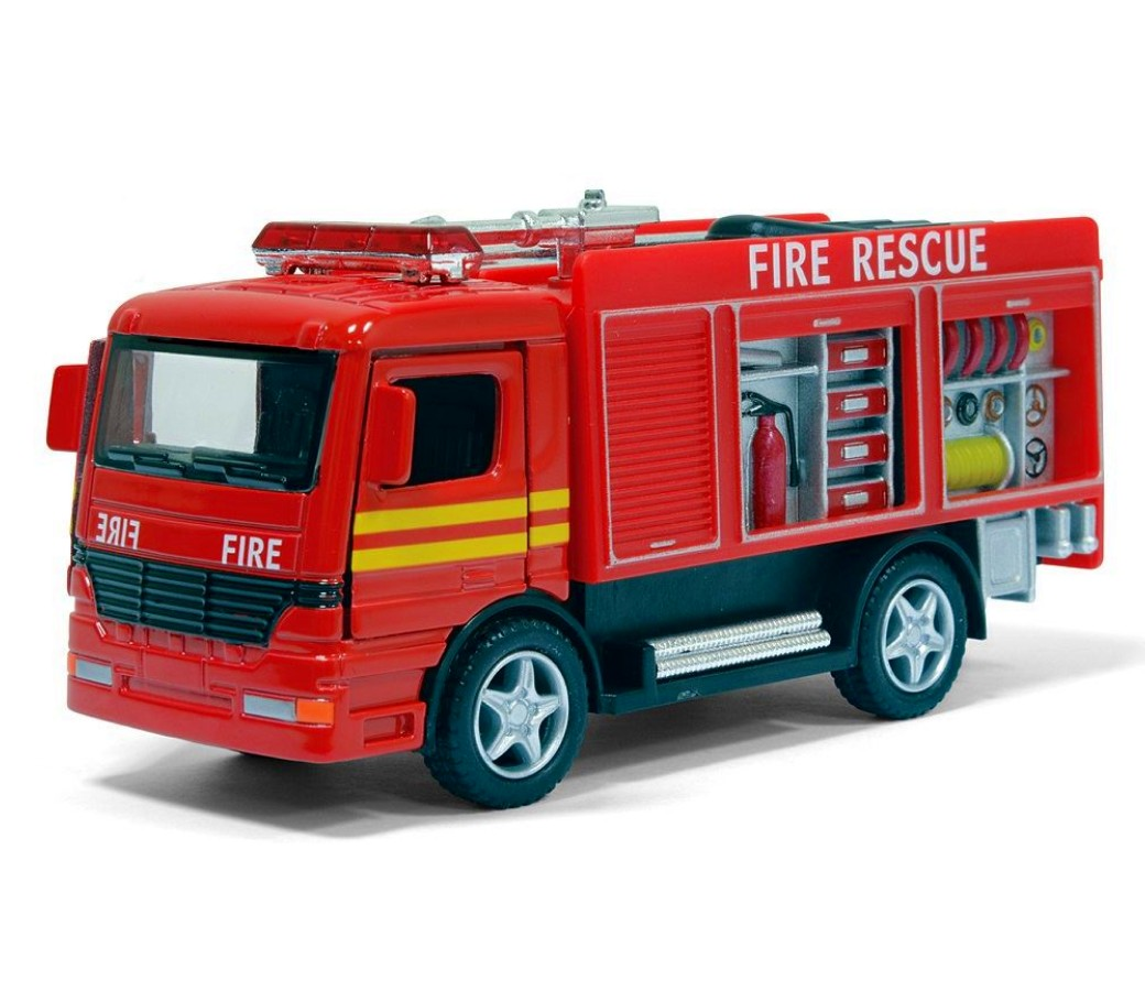 "5"" Rescue Fire Engine (Red Color) KS5110D"