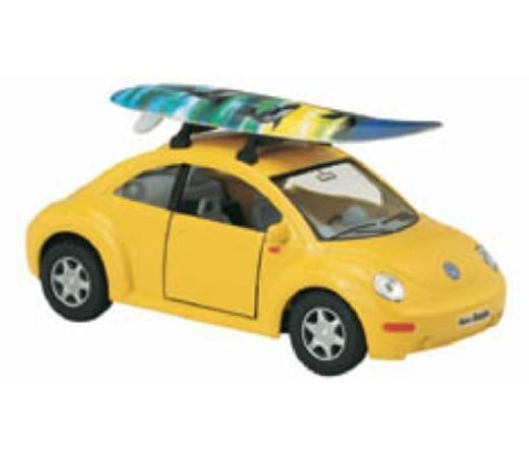 Volkswagen New Bettle with Surfboard 1:32 (5