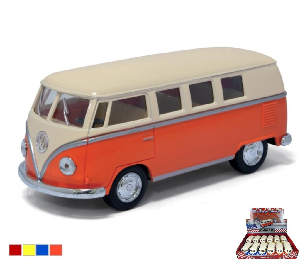 VW Classical Bus 1962 (Ivory Top) 1:32 (5