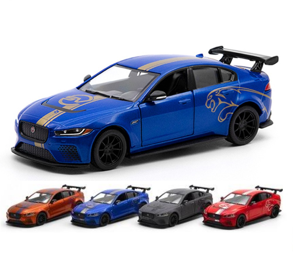 1:38 5'' Jaguar XE SV Project 8 (4 asst.colors) KT5416DF