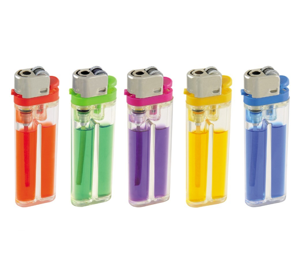 Classic Flint Disposable Gas Lighter (Colored Gas) - DL-788-Flint-Color