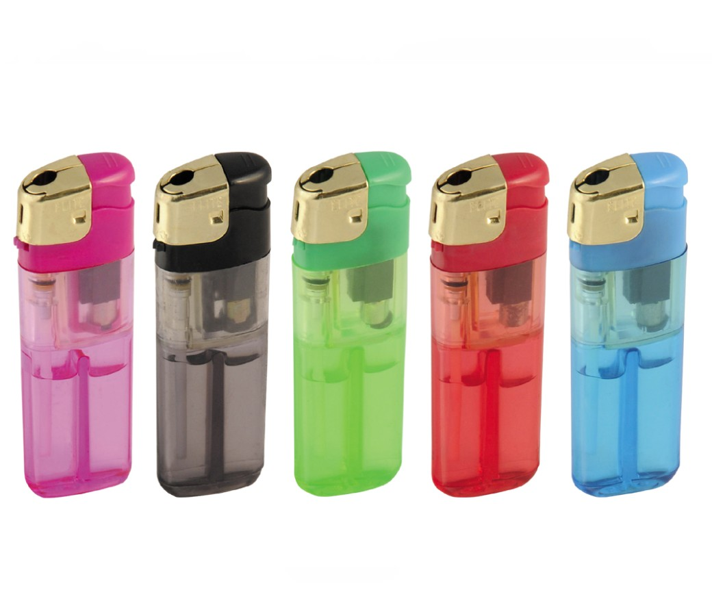 Disposable Electronic Lighter with Color Gas - PL-834-Color