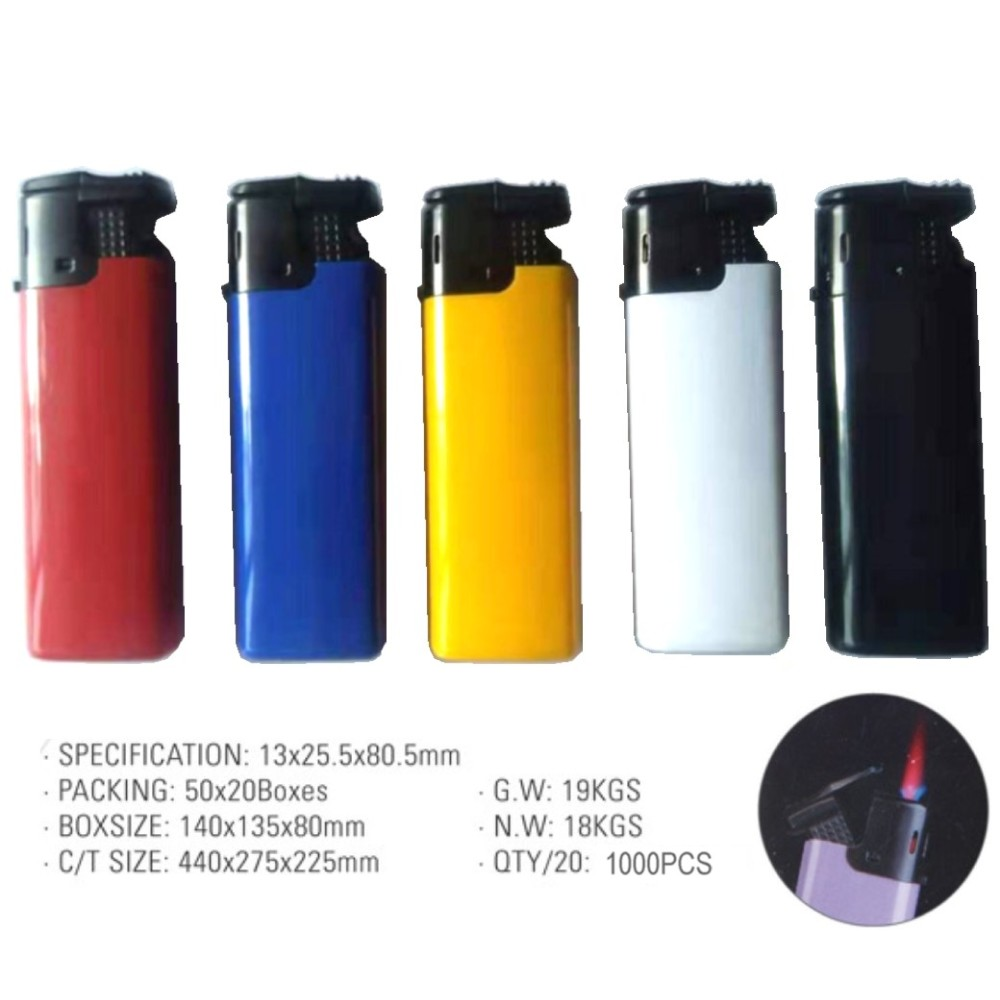Electronic Refillable Windproof Jet Lighter - QM-1010-Jet