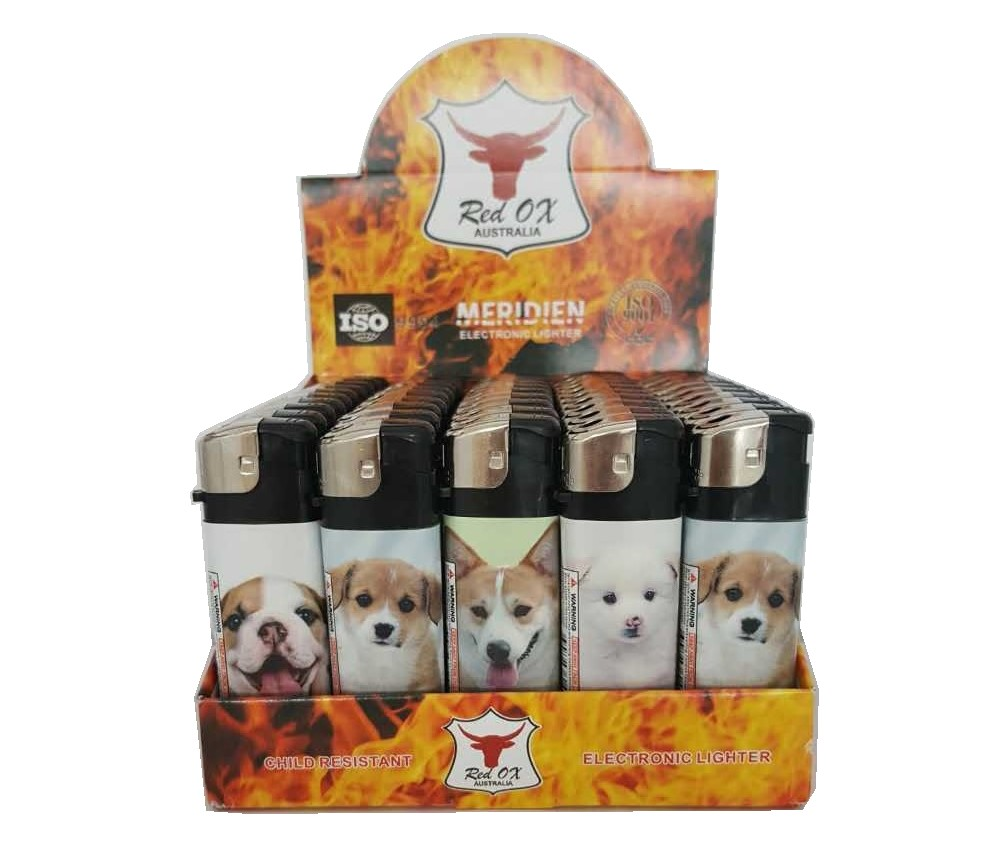 Dog Electronic Gas Refillable Lighters RF-834-Dog