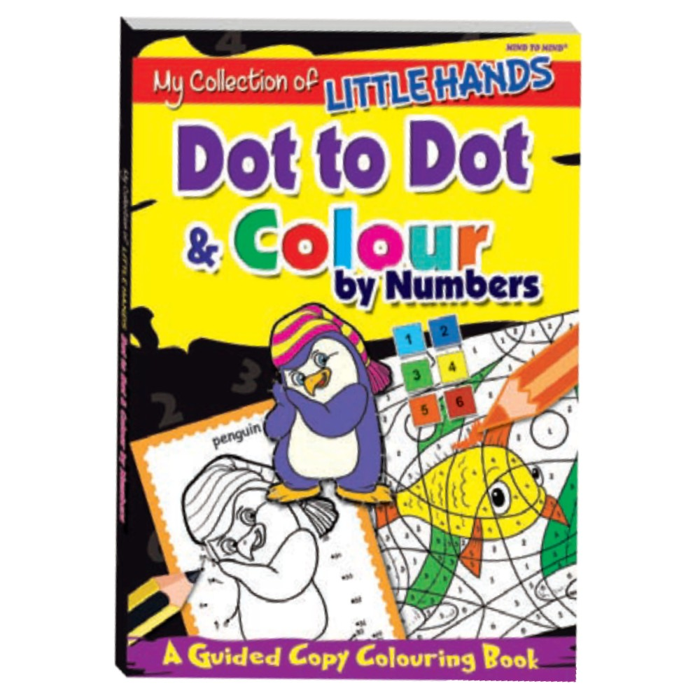 My Collection of Little Hands Dot to Dot & Colour by Numbers (MM03405)