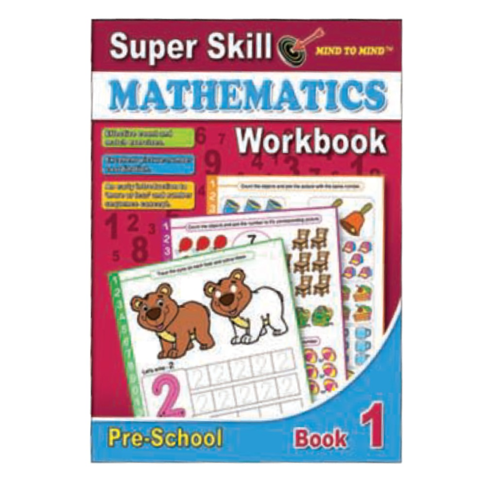 Super Skill Mathematics Workbook 1 (MM10531)