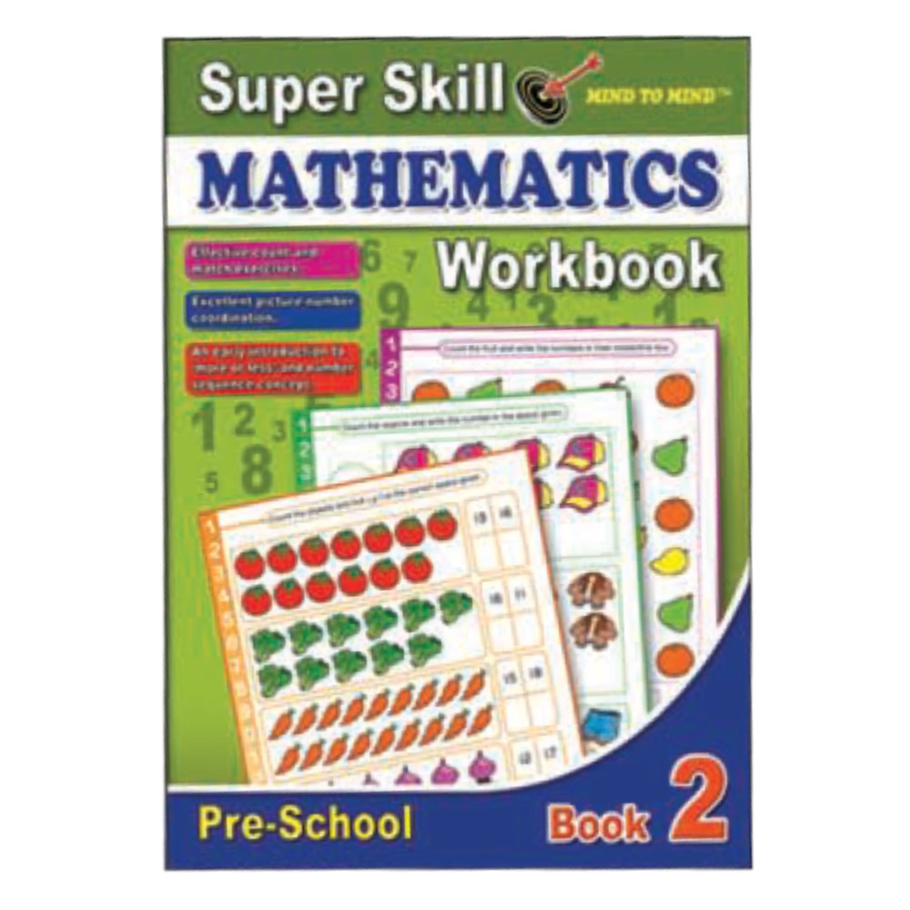 Super Skill Mathematics Workbook 2 (MM10548)