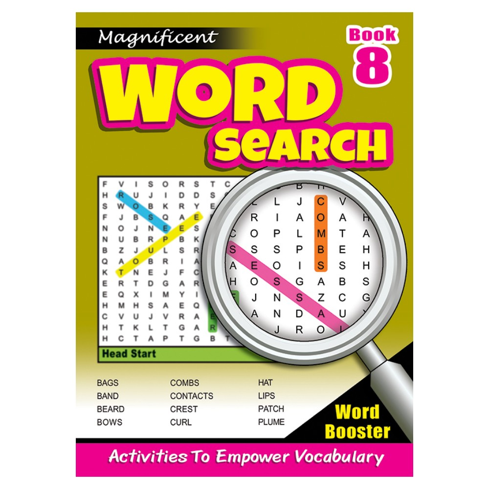 Magnificent Word Search 8 (MM10906)
