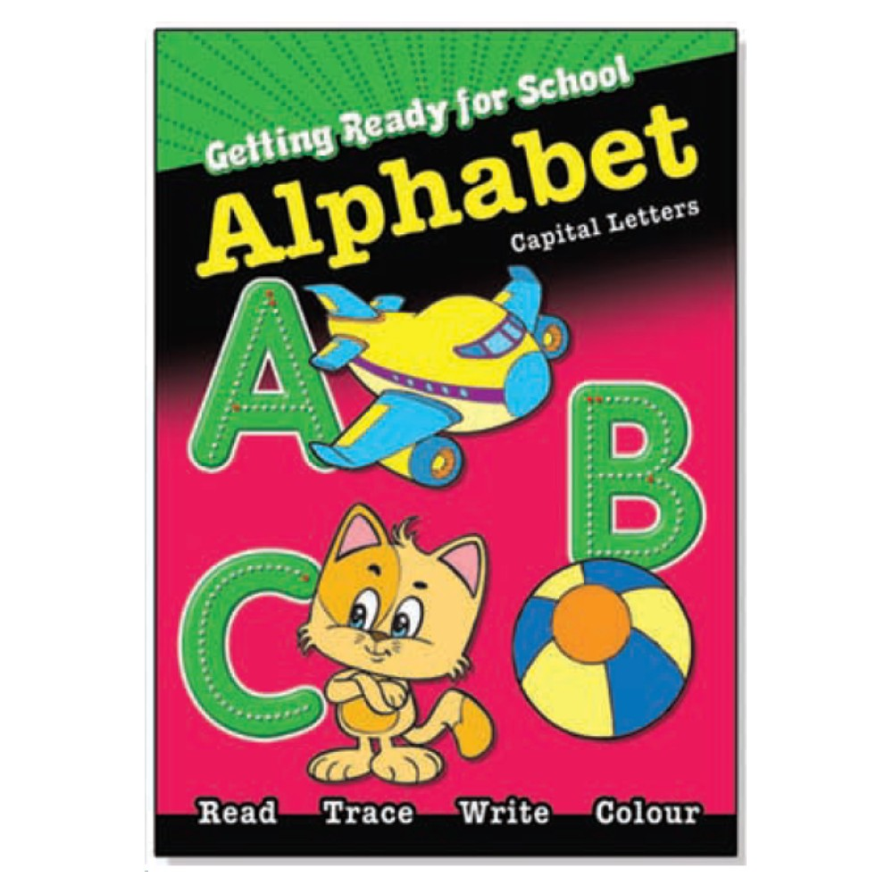 Getting ready for school Alphabet Capital Letters (MM10937)