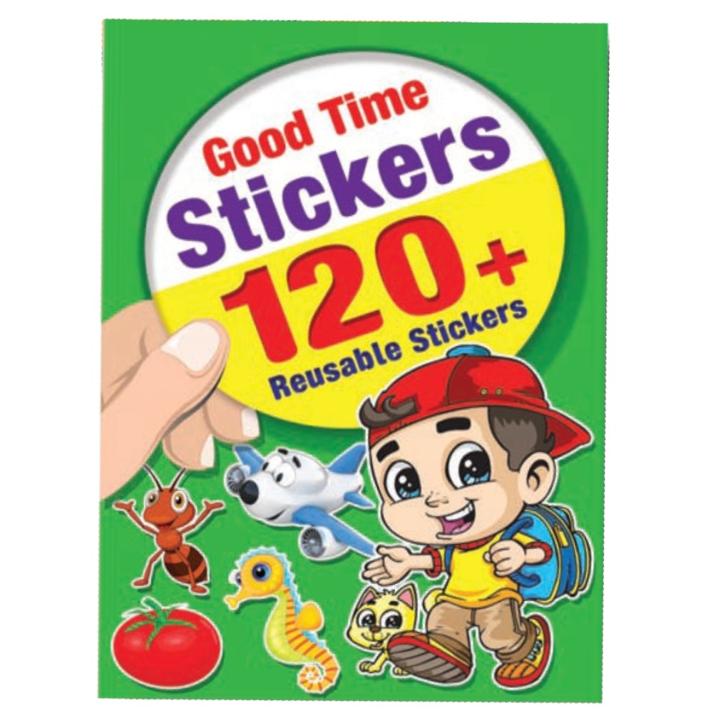 Good Time Stickers 120 + Reusable Stickers (MM14546)