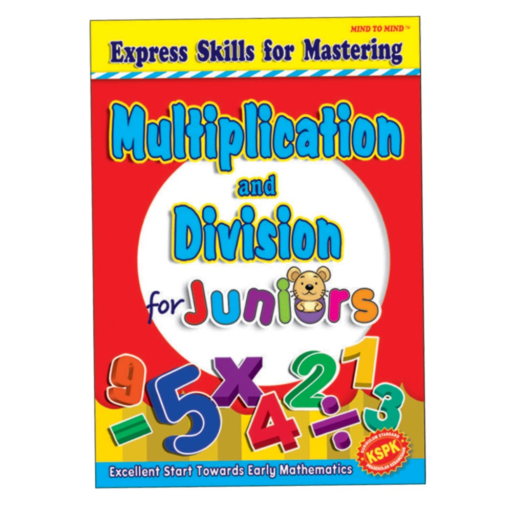 Express Skills For Mastering Multiplication and Division MM18308