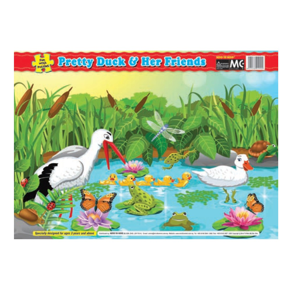 Fun With Puzzle Pretty Duck & Her Friends (MM19909)