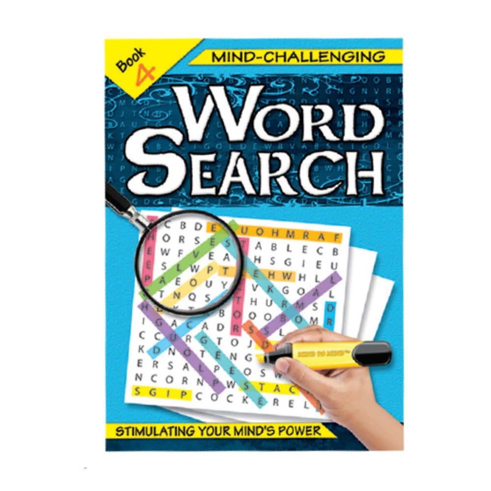 Mind-Challenging Word Search Book 4 (MM59591)