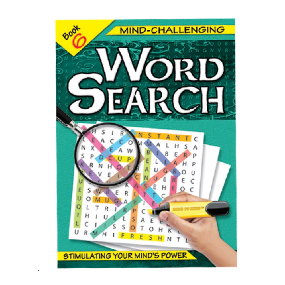 Mind-Challenging Word Search Book 6 (MM59614)