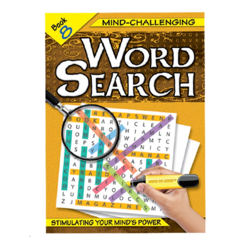 Mind-Challenging Word Search Book 8 (MM59638)