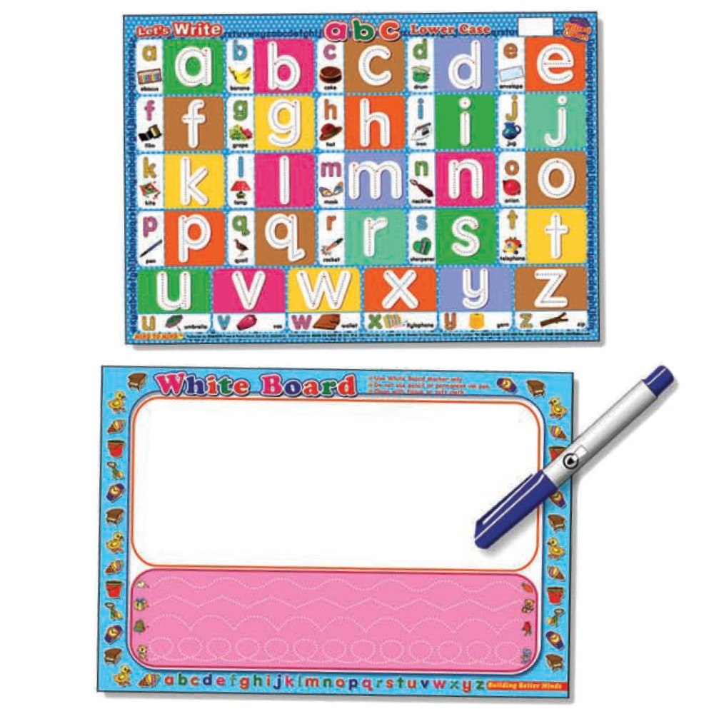 Writing Board Let's Write abc Lower Case (MM60236)