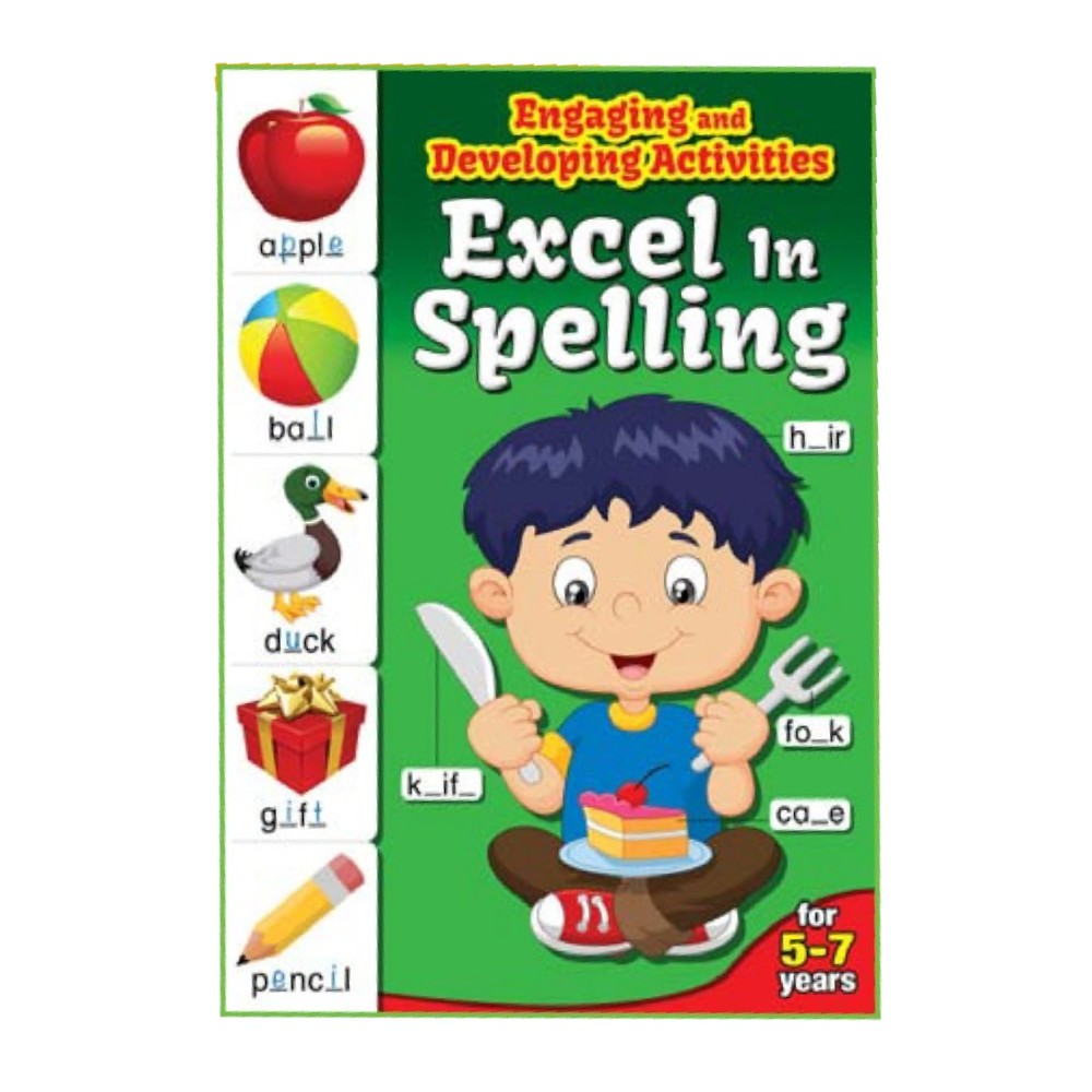 Excel in Spelling for 5-7 Years (MM72788)