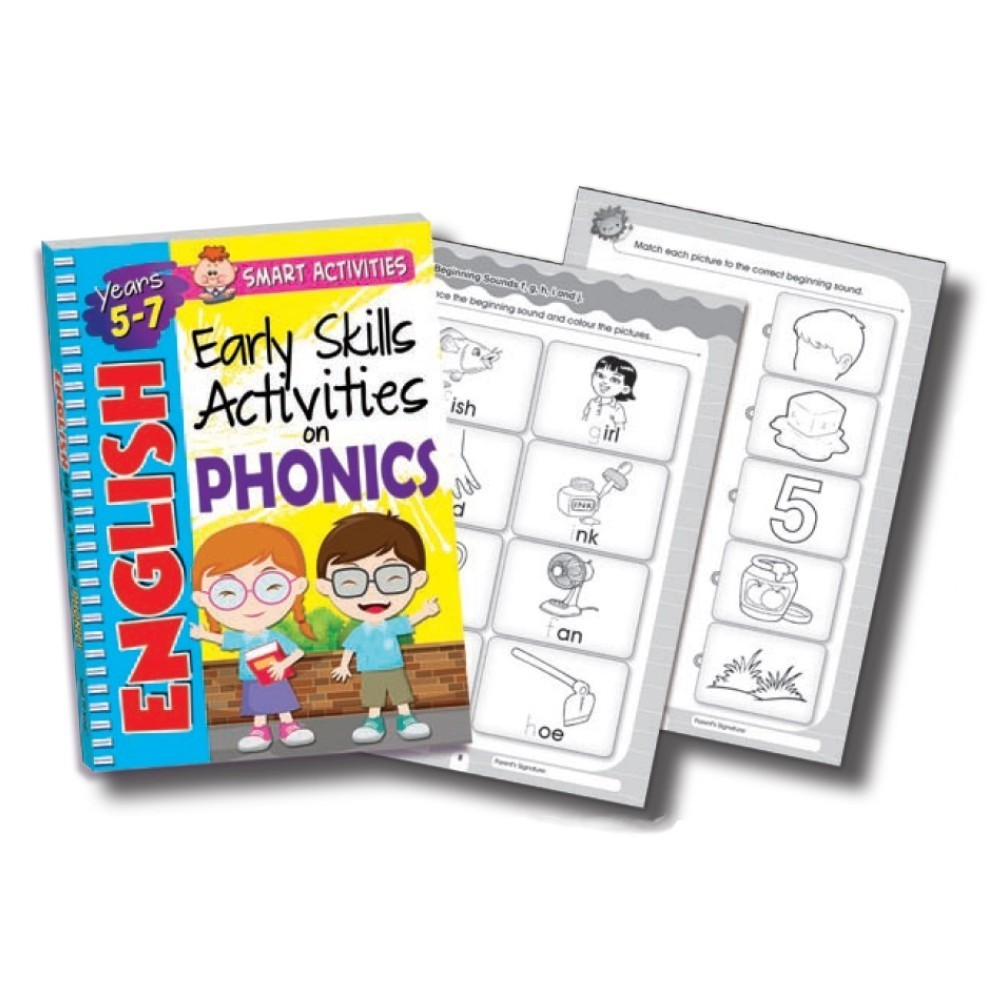 Early Skills Activities on Phonics 5-7 Years (MM75314)