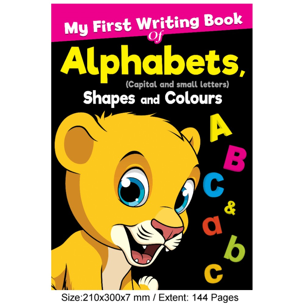 My First Writing Book of Alphabets Shapes and Colours (MM76182)