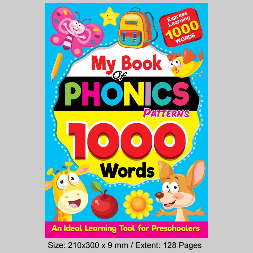 My Book Phonics Patterns-1000 Words (MM76472)